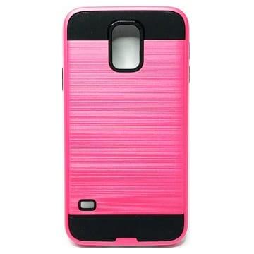 Brushed Case – Samsung S5; S902L – Pink