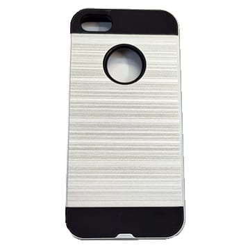 Brushed Case iPhone 6+/6s+ – Silver