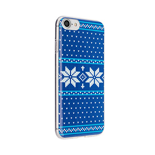 FLAVR Case Ugly Xmas Sweater for iPhone 7/8 Blue
