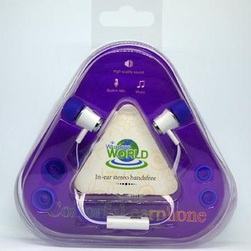 Stereo Headset w/Mic – Purple