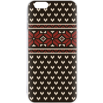 FLAVR Case Ugly Xmas Sweater for iPhone 6/6s Black