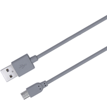 Micro USB Charge & Sync Cable, 6ft. (Grey)