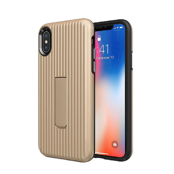 Luggage Case for iPhone Xs Max – Gold