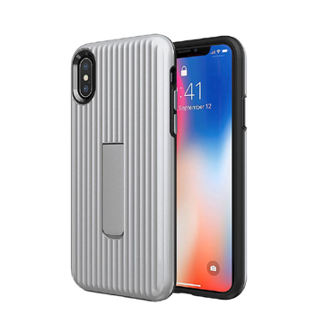 Luggage Case for iPhone Xs Max – Silver