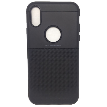Ribbed Case for iPhone Xs Max – Black