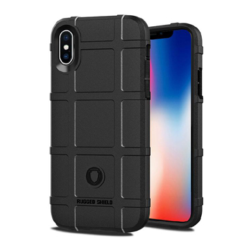 Rugged Case for iPhone Xs Max – Black