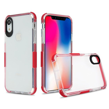Side Spine Case for iPhone Xs Max – Red