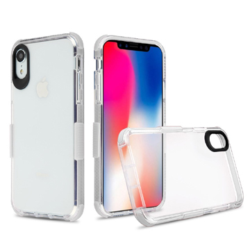 Side Spine Case for iPhone Xs Max – White