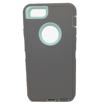 Protective Hybrid Case for iPhone 6/6s – Grey/Teal