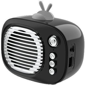 Wireless TV Speaker – Black
