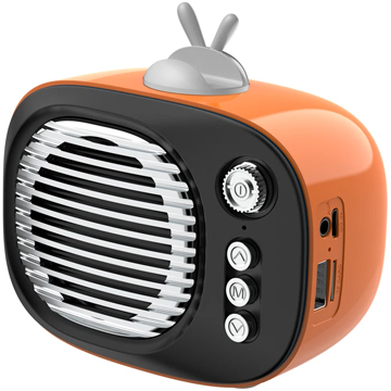 Wireless TV Speaker – Orange